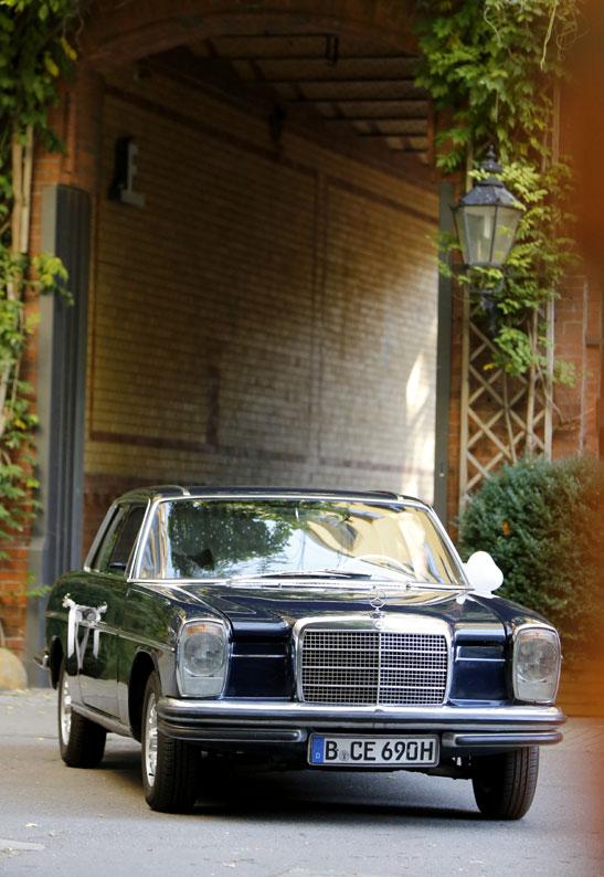 Oldtimer 69'er Mercedes-Benz Coupé