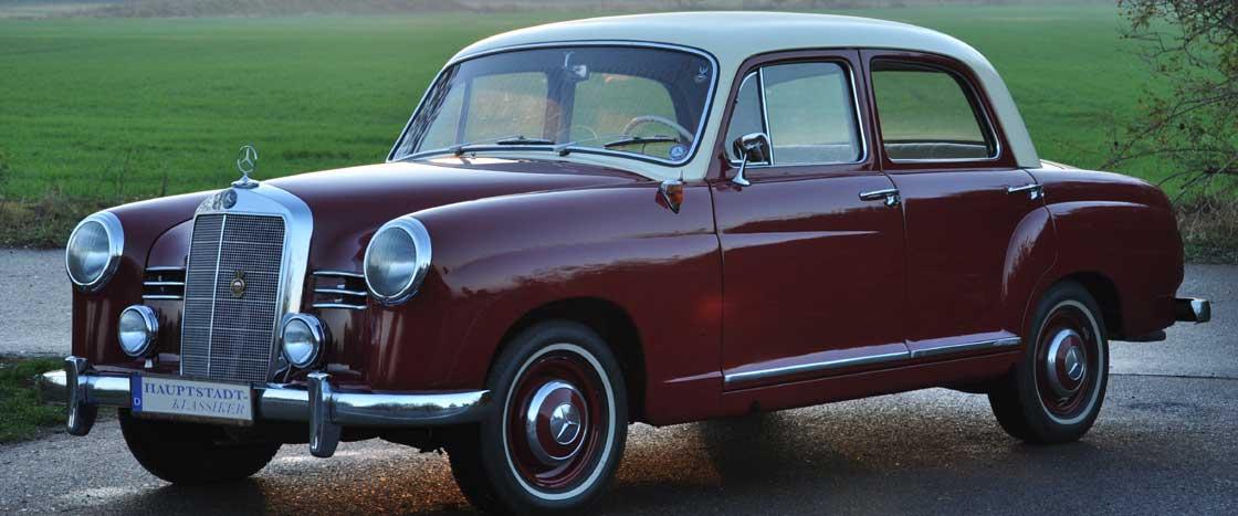 Oldtimer Mercedes – Benz 180 D